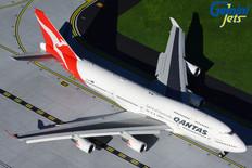 Gemini 200 Qantas Boeing 747-400ER VH-OEH Flaps down Scale 1/200 G2QFA734F