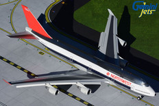 Gemini 200 Northwest Boeing 747-400 N663US Flaps Down Scale 1/200 G2NWA909F