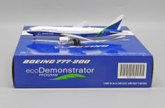 JC Wings Boeing Company Eco Demonstrator Livery Boeing 777-200 N772ET With Antenna Scale 1/400 JC4216