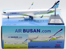Aviation 200 Air Busan Airbus A321neo HL8394 with stand Scale 1/200 AV2034