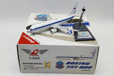 Albatross Models Taiwan Air Force Boeing 737-800 3701 with stand Scale 1/200 ALB23701