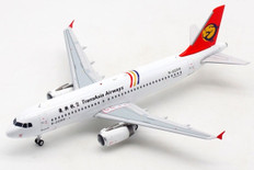 Albatross Models TransAsia Airways Airbus A320-200 B-22310 with stand Scale 1/200 ALB2TNA320