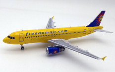 Inflight 200 Freedom Air Airbus A320-200 ZK-OJK with stand Scale 1/200 IF320SJ0219