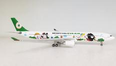 WB Models Eva Air Airbus A330-302 B-16331 Bad Batz Manu with stand Scale 1/200 WBEV33301