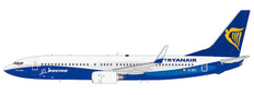 JC Wings Ryanair Boeing House Color Boeing 737-800 EI-DCL With Stand Scale 1/200 JC2496