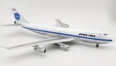 Inflight 200 Pan Am Boeing 747-100 N725PA with stand Scale 1/200 IF741PA0121P