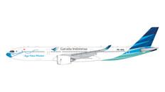 Gemini Jets Garuda Indonesia Ayo Pakai Masker Airbus A330-900neo Scale 1/400 GJGIA1961