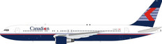 WB Models Canadian Airlines Boeing 767-300 C-GSCA with stand Scale 1/200 WB763CPSCA