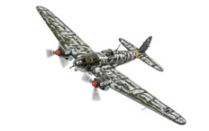 Corgi aviation Heinkel He III Operation Barbarossa Scale 1/72 AA33718