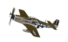 Corgi aviation P-51D Mustang (Early) 44-13761 / MC-I - Happy Jack's Go Buggy Capt Jack M Ilfrey 79th FS / 20th FG Kings Cliffe August 1944 Scale 1/72 AA27006