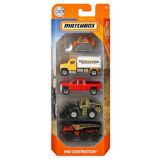 Matchbox 5 car pack assorted construction vehicles  MATGFN86