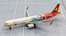 JC Wings Tianjin Airlines A321 B-8389 Tianjin 2017 Scale 1/400 JCLH4068