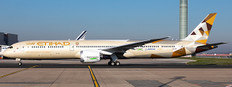 JC Wings Etihad Airways Boeing 787-10 Dreamliner 'Eco Demonstrator' A6-BMI with Antenna Scale 1/400 JC4904