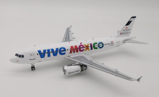 Inflight 200 Mexicana A320-200 F-OHMJ Vive Mexico with stand IF3200717