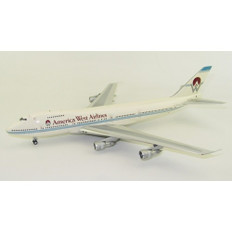 Inflight 200 America West Airlines 747-200 PH-BUC with stand IF747HP002