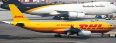 JC Wings Air Hong Kong A330-200F B-LDS (DHL) with stand Scale 1/200 JC20111