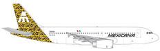 Herpa Wings Mexicana de Aviación Talavera Tizatlan Airbus A320 Scale 1/500 535304