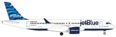 Herpa Wings JetBlue Hops tail design Airbus A220-300 Scale 1/500 535298