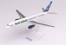 Herpa Wings Iron Maiden Ed Force One Somewhere Back In Time World Tour 2008 Boeing 757-200 G-OJIB Scale 1/500 613255