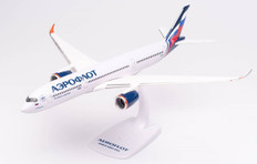 Herpa Snap-fit  Aeroflot P. Tchaikovsky Airbus A350-900 VQ-BFY Scale 1/200 613217