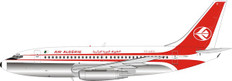 Inflight 200 Air Algerie Boeing 737-200 7T-VEC with stand Scale 1/200 IF732AH1120