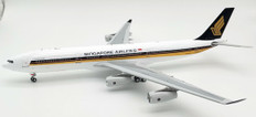 WB Models Singapore Airlines Airbus A340-313 9V-SJG with Stand Scale 1/200 WBA340005