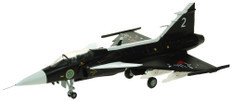 Aviation 72 SAAB Gripen Swedish Air Force Museum Black Scale 1/72 AV7243004