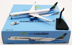 Aviation 400 Caribbean Airlines Airbus A350 -10000 with stand Scale 1/200 AV4062