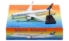 Aviation 400 South African Airways Airbus A350 -900 ZS-SDF with stand Scale 1/200 AV4071