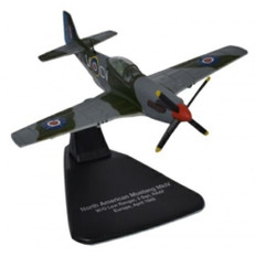 Oxford Diecast Mustang MkIV RAAF Europe 1945 Scale 1/72 OXAC060