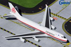 Gemini Jets Cargolux RETRO Boeing 747-400 LX-NCL Scale 1/400 GJCLX1947