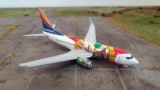 Gemini 200 Southwest Florida One Boeing 737-700 N945WN flaps down Scale 1/200 G2SWA914F