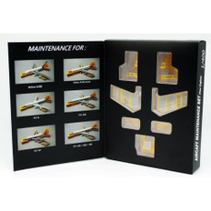 Fantasy Wings Maintenance docking system set for 4 engine Scale 1/400 FWDPMS4010
