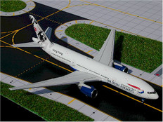 Gemini Jets British Airways Hong Kong tail Boeing 777-200 G-YMMA Scale 1/400 GJBAW257