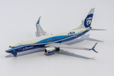 NG models Alaska Airlines Spirit of Seattle Boeing 737-800 N512AS with scimitar winglets Scale 1/400 NG58095
