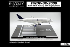 Fantasy Wings Hong Kong Airport Runway 07R Display Stand Scale 1/400 FWDP-SC-2008