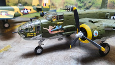 Corgi B-25J Mitchell Diecast Model USAAF 42nd BG 390th BS Crusaders Heavenly Body Sansapor New Guinea 1944 Scale 1/72 AA35301