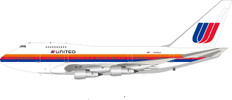 Inflight 200 United Airlines Boeing 747SP with stand Scale 1/200 IF747SPUA0920