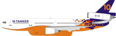 Inflight 200 Tanker Air Carrier DC-10 -30ER N603AX with stand Scale 1/200 IFDC10AT0421