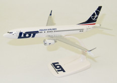 PPC LOT Polish Airlines Boeing 737-8 Max SP-LVA Scale 1/200 PPC-221683