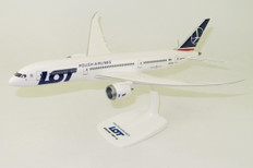 PPC LOT Polish Airlines Boeing 787-9 Dreamliner SP-LSA (Official airline promo box) Scale 1/200 PPC-221201
