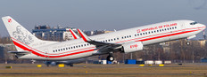 JC Wings Poland Air Force Boeing 737-800 0110 With Stand Scale 1/200 JCLH2245