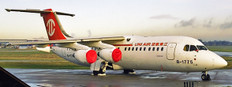 JC Wings Uni Air BAE146-300 B-1775 With Stand Scale 1/200 JCD2UIA775