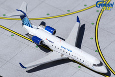 Gemini Jets United Express Bombardier CRJ-200LR N246PS Scale 1/400 GJUAL1966