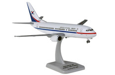 Hogan Wings Korea Air Force Boeing 737-300 85101 Snap fit with stand and gear Scale 1/200 HG11441