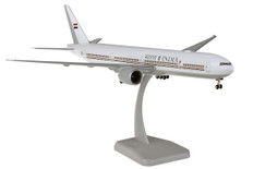 Hogan Wings Indian Air Force Boeing 777-300ER VT-ALW Snap fit with stand and gear Scale 1/200 HG11588