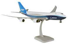Hogan Wings Boeing New Livery 2019 Boeing 747-8F Snap fit with stand and gear Scale 1/200 HG11489
