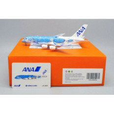 JC Wings ANA All Nippon Flying Honu - Lani Airbus A380 JA381A with Antenna Scale 1/400 JCEW4388006
