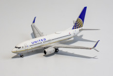 NG Models United Airlines 737-700 N16732 with scimitar winglets Scale 1/400 NG77001
