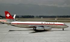 Herpa 500 Balair Convair CV-990 Coronado HB-ICH Scale 1/500 535175